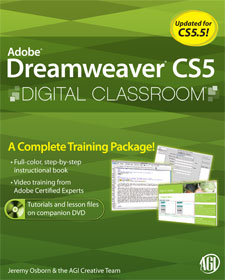 Dreamweaver CS5 book